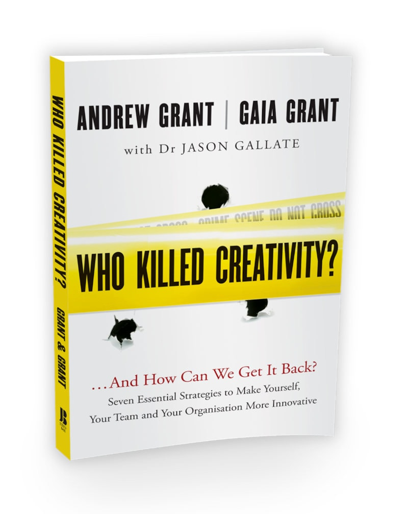 who killed creativity book